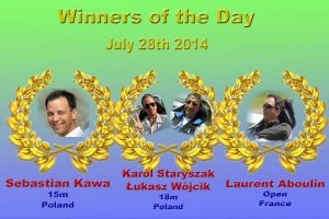 ZZ day 2 winners