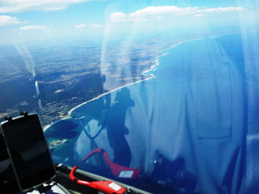 View towards Port Phillip